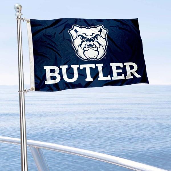 Butler Bulldogs Boat Nautical Flag