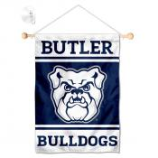 Butler Bulldogs Window Hanging Banner with Suction Cup