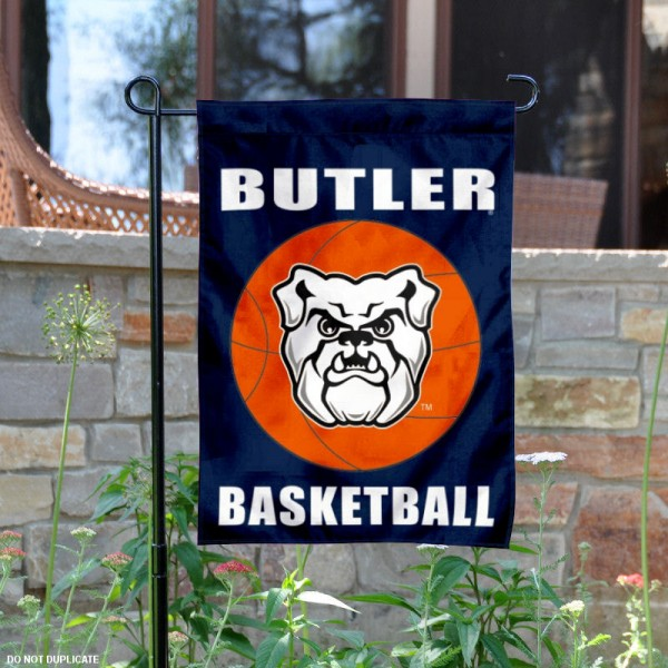Butler University Basketball Garden Flag