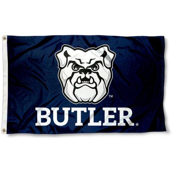 Butler University New Logo Flag