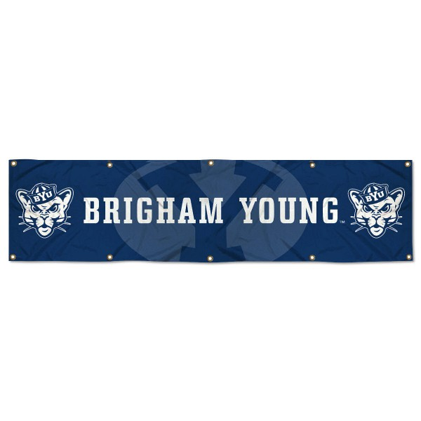 BYU Cougars 2x8 Banner