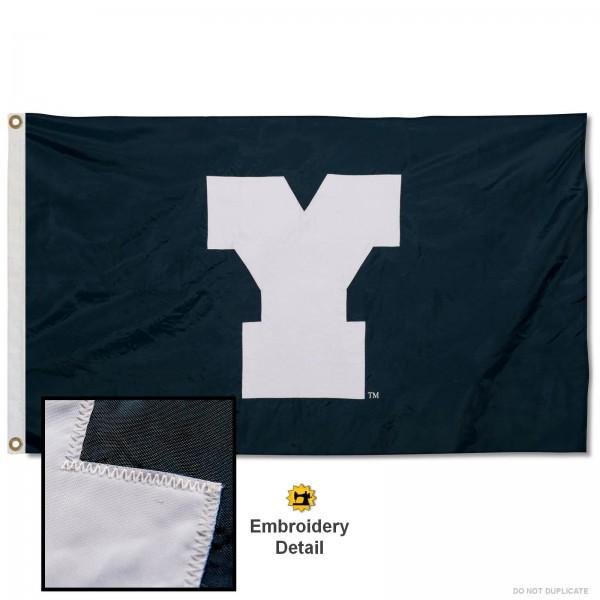 BYU Cougars Appliqued Nylon Flag