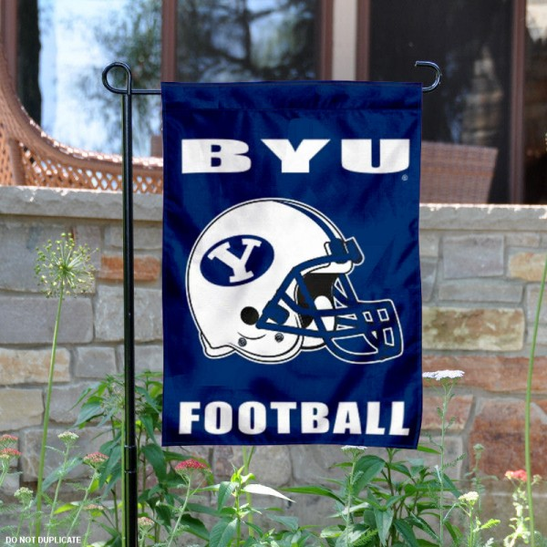 BYU Cougars Football Garden Flag