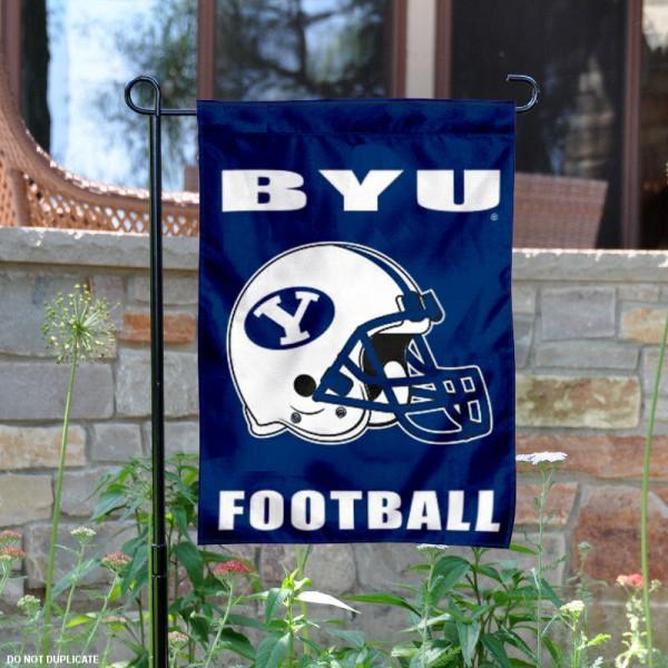 BYU Cougars Football Garden Flag