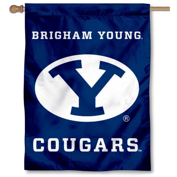 BYU Cougars House Flag