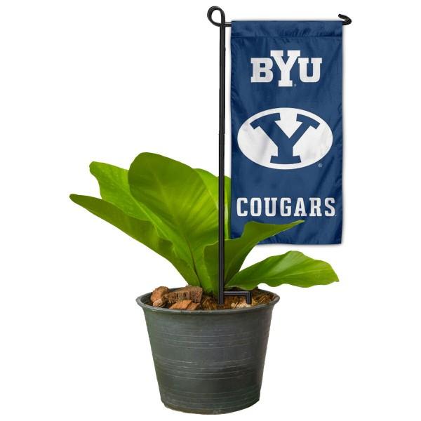 BYU Cougars Mini Garden Flag Marker
