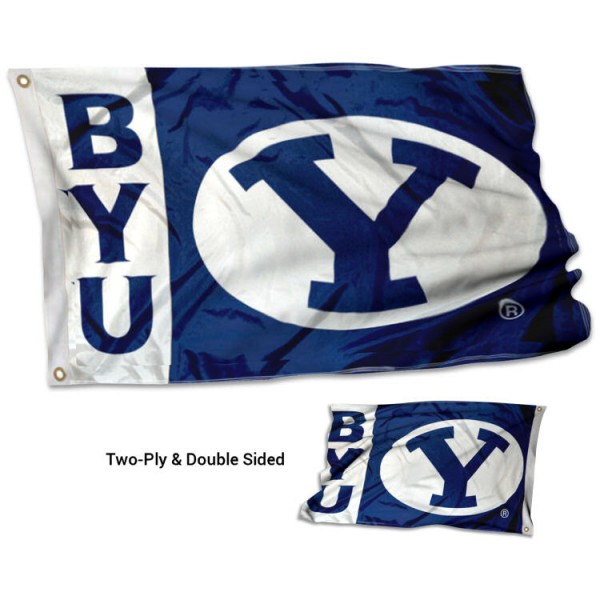 BYU Cougars Stadium Flag