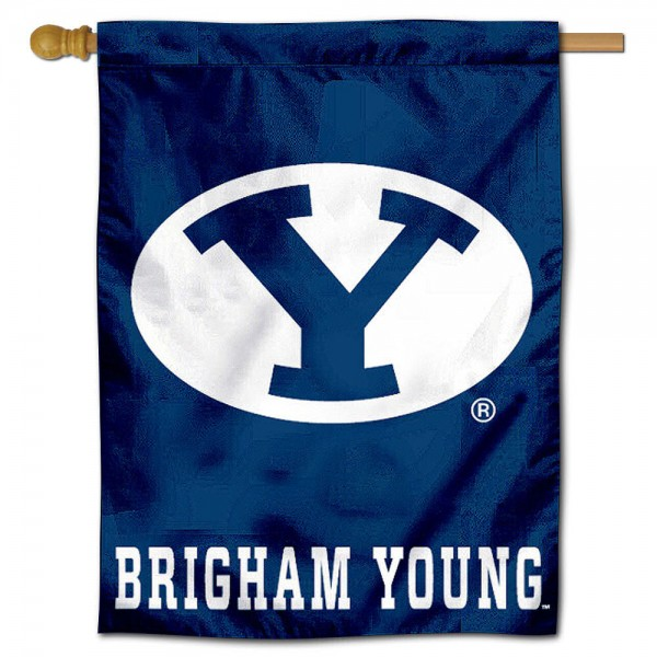 BYU Polyester House Flag