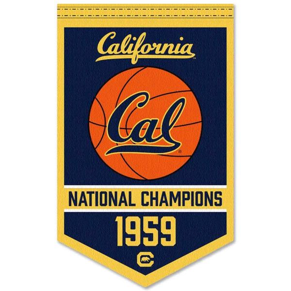Cal Bears College Basketball National Champions Banner