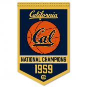 Cal Bears College Basketball National Champions Banner