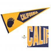 Cal Bears Embroidered Wool Pennant