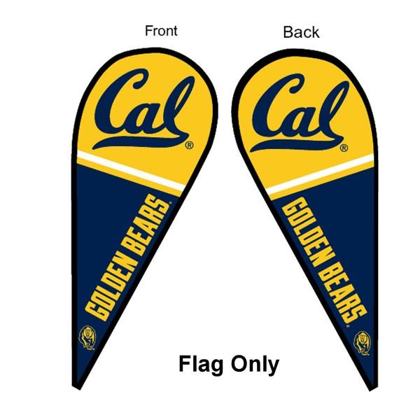 Cal Bears Teardrop Flag