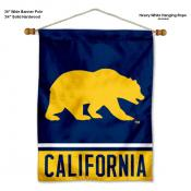 Cal Berkeley Bears Banner with Pole
