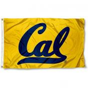 Cal Berkeley Bears Gold Flag