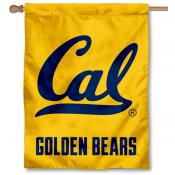Cal Berkeley Bears House Flag