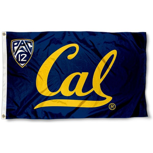 Cal Berkeley Bears Pac 12 Flag