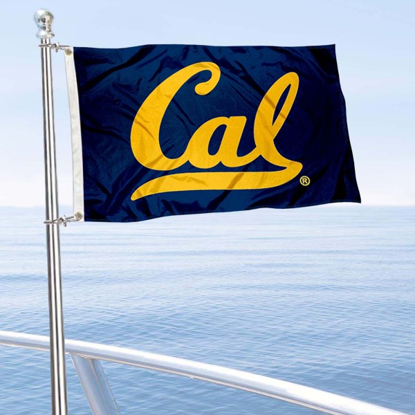 Cal Berkeley Boat Flag