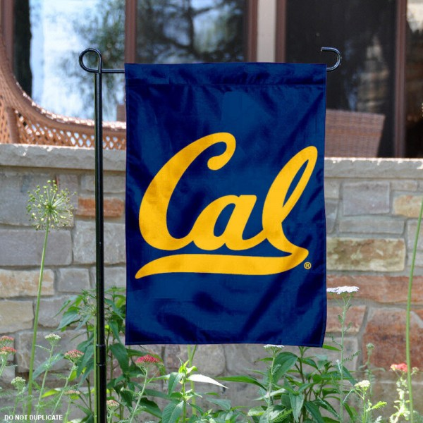 Cal Berkeley Garden Flag