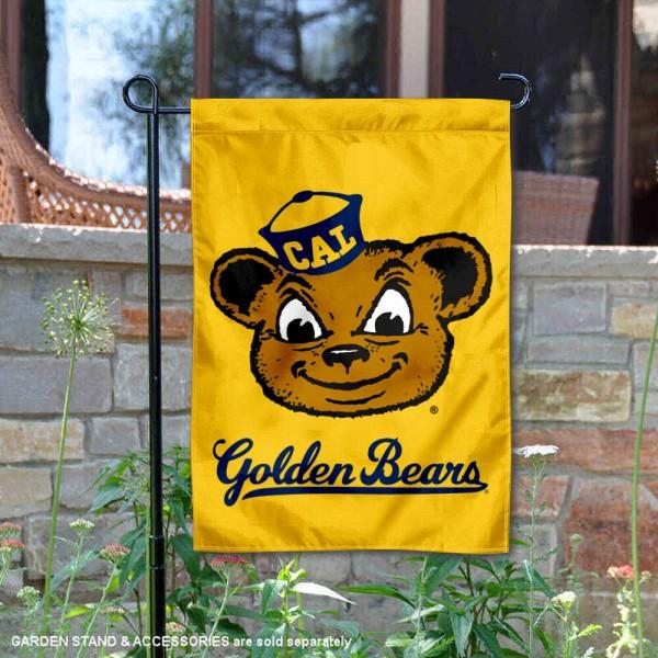 Cal Berkeley Golden Bears Double Sided Garden Flag