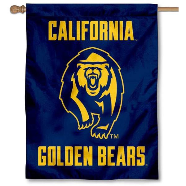Cal Berkeley Golden Bears House Flag