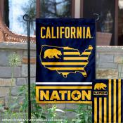 Cal Berkeley Golden Bears Nation Garden Flag