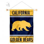 Cal Berkeley Golden Bears Window Hanging Banner with Suction Cup