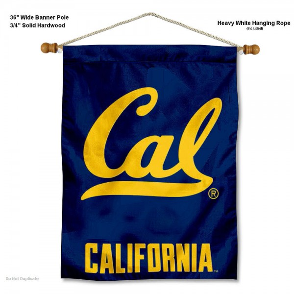 Cal Berkeley Logo Wall Hanging