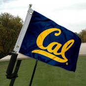 Cal Golf Cart Flag