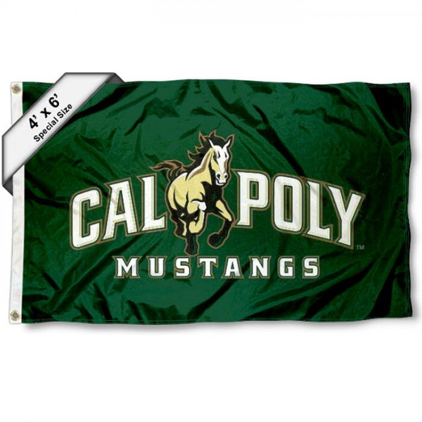 Cal Poly Mustangs 4'x6' Flag
