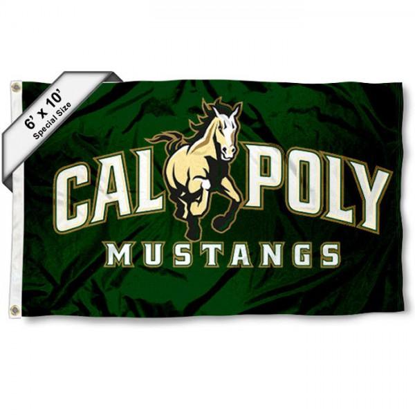 Cal Poly Mustangs 6x10 Foot Flag