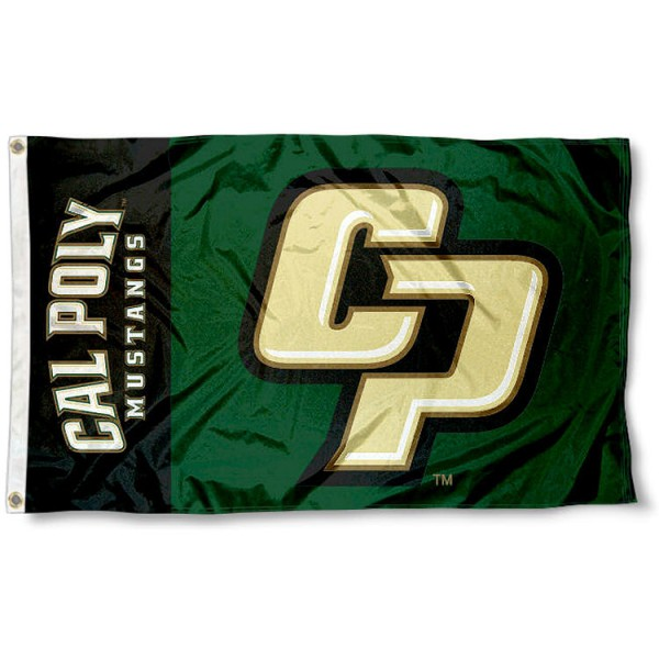 Cal Poly Mustangs Flag