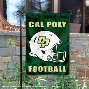 Cal Poly Mustangs Football Garden Flag