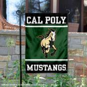 Cal Poly Mustangs Garden Flag