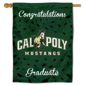 Cal Poly Mustangs Graduation Banner
