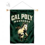 Cal Poly Mustangs Small Wall and Window Banner