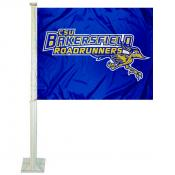 Cal State Bakersfield Road Runners Logo Car Flag