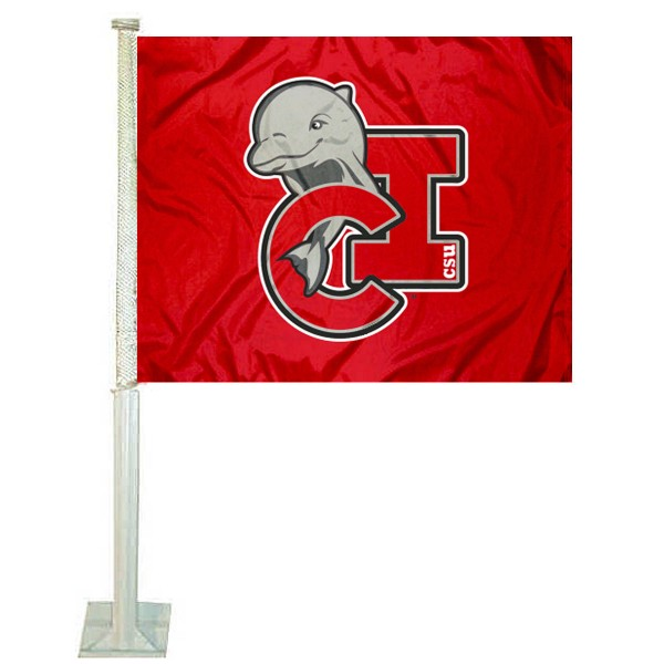 Cal State Channel Islands Car Flag