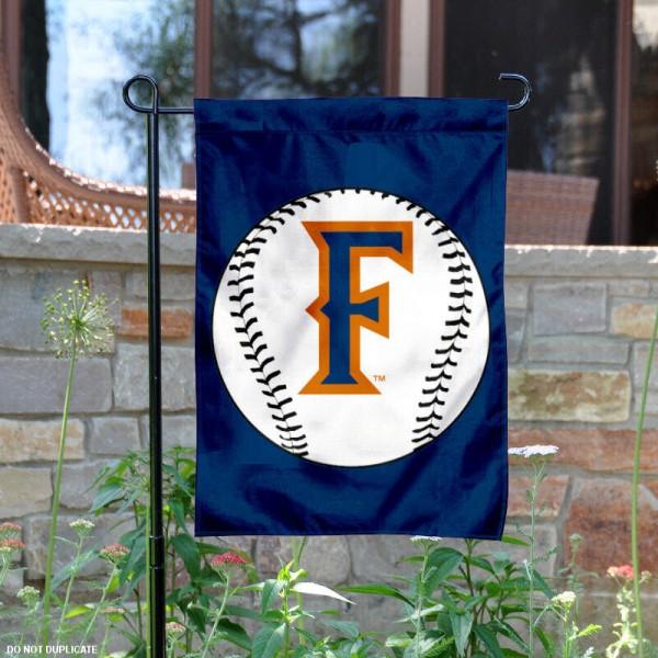Cal State Fullerton Baseball Garden Flag