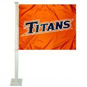Cal State Fullerton Titans Car Flag