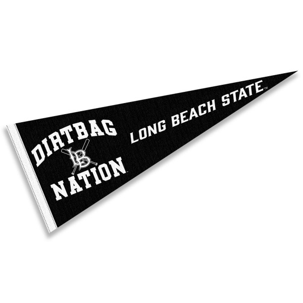 Cal State Long Beach 49ers Dirtbag Nation Pennant