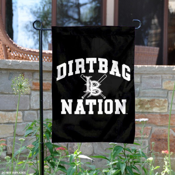 Cal State Long Beach Baseball Garden Flag