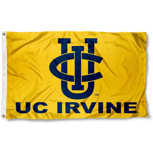 California Irvine Eaters Gold Flag