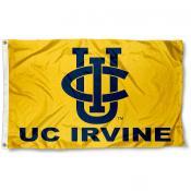 California Irvine Eaters Gold Flag