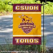 California State University Dominguez Hills Toros Garden Flag