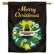Cameron Aggies Christmas Holiday House Flag