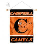 Campbell Fighting Camels Window Hanging Banner with Suction Cup