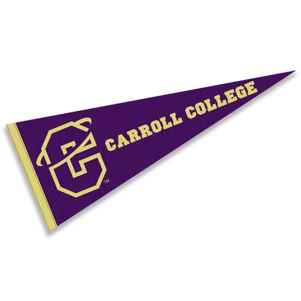 Carroll Fighting Saints Pennant
