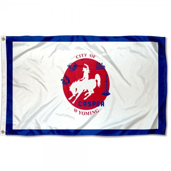 Casper City 3x5 Foot Flag