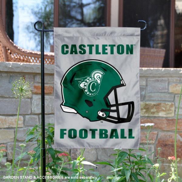 Castleton Spartans Football Garden Flag