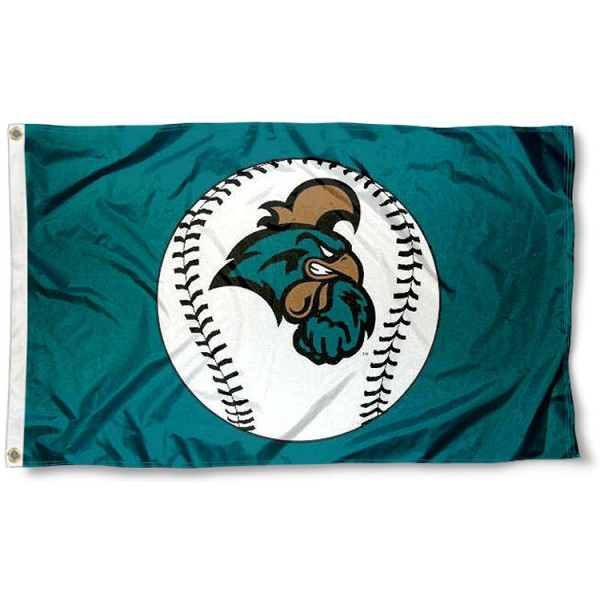 CCU Chanticleers Baseball Flag
